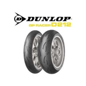 Gomme Dunlop GP Racer D 212