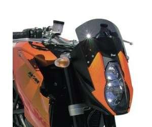 CUPOLINO ALTO + 10 CM ( TOTALE ALTEZZA 20 CM) ERMAX PER 990 SUPER DUKE 2006 (+ FIT KIT )TRASPARENTE
