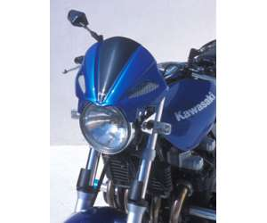 MASCHERINA ATTACK ERMAX PER CB 600 HORNET (FIX SPECIAL) 2003/2004 TRASPARENTE METAL GRIGIO