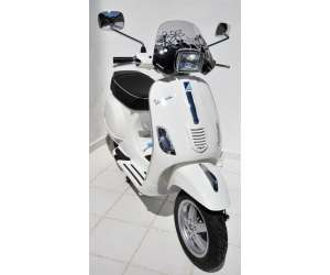 CUPOLINO PICCOLO 30 CM ERMAX PER VESPA(PHARE CARRE )50/125 S 10/15 + CHROMED FIX FUME