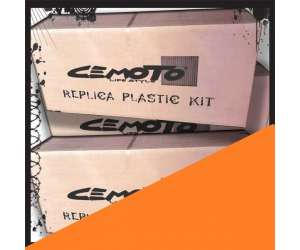 Kit plastiche   ARANCIO cross enduro cemoto per  KTM  EXC 2004 EXCF 2004