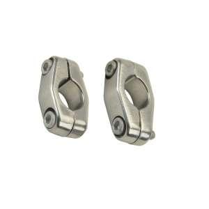 Kit morsetti Domino argento lucido in alluminio 0002.91.00.04-0