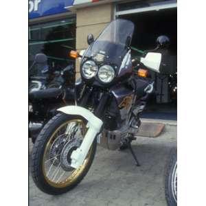 CUPOLINO ALTO + 10 CM ERMAX PER XRV 750 AFRICA TWIN 90/95 VIOLA
