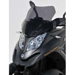 SCOOTER PARABREZZA ERMAX SPORT 46CM PER QUADRO 3D 350 AND 350 S (+KIT FIX )2012/2013 FUME