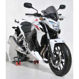 CUPOLINO SPORT 29 CM ERMAX PER CB 500 F (+KIT FIX AND PATTES )2013/2015 TRASPARENTE