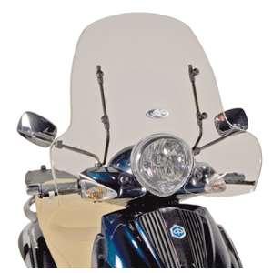 Cupolino parabrezza  per PIAGGIO Beverly 500  2003 - 2004 - 2005 - 2006 - 2007   Fabbricato da Kappa colore trasparente codice prodotto 103AK