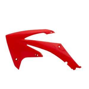 Spoiler laterale radiatore cross enduro plastiche CEMOTO per  HONDA CRF 450 2009 / 2012 CRF 250 2010 / 2013