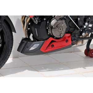 PUNTALE (3 PARTS )ERMAX PER MT 07 TRACER 2016/2017 ROSSO METAL (RADICAL ROSSO)/NOIR SATIN