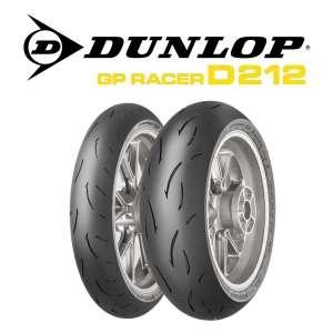 GOMMA DUNLOP POSTERIORE GP RACER D212 M 180/55