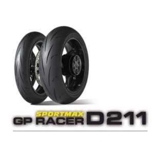 GOMMA DUNLOP ANTERIORE GP RACER D211
