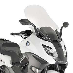Cupolino parabrezza  per BMW C 650 Sport  2016 - 2017 - 2018   Fabbricato da Kappa colore trasparente codice prodotto KD5121ST