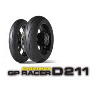 GOMMA DUNLOP POSTERIORE GP RACER D211 160/60 17