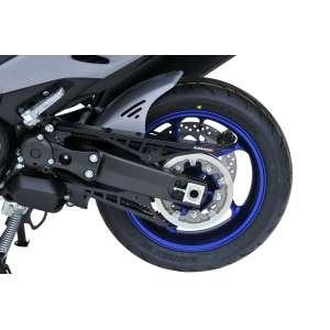 Parafango anteriore (with engine cover belt en aluminum anodized ) Ermax per tmax 560 2020  grezzo non verniciato  unpainted