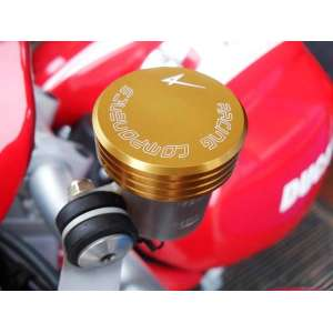 COPERCHIO POMPA FRENO POSTRIORE 4RACING PER DUCATI MONSTER 696  2008 - 2014