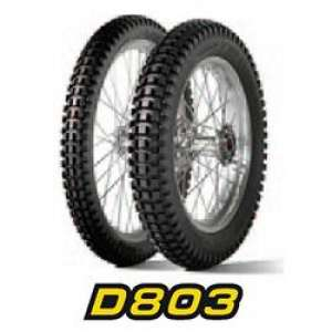 GOMMA DUNLOP POSTERIORE D803 GP 120/10 18