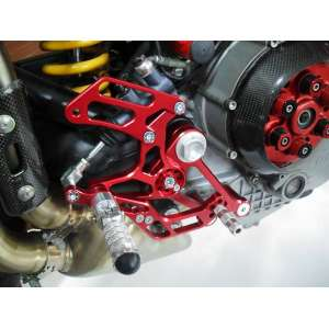 Pedana arretrata regolabile 4RACING per DUCATI  MONSTER S2R   2007 - 2010