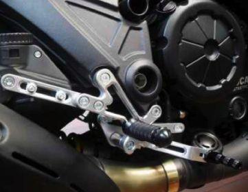 Pedane modello Race DUCATI 848 / 1098 / 1198