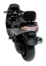 Faro posteriore a led con frecce integrate per YAMAHA T-MAX 500 01-07